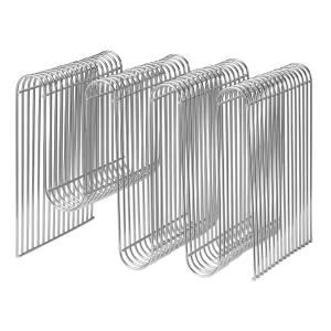 Curva tijdschriftenstandaard zilver