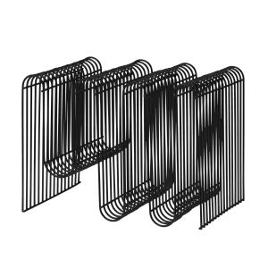 Curva tijdschriftenstandaard zwart