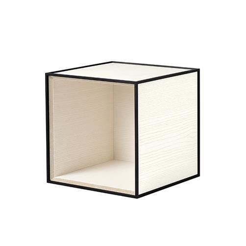 Frame 28 kubus zonder deur wit essen