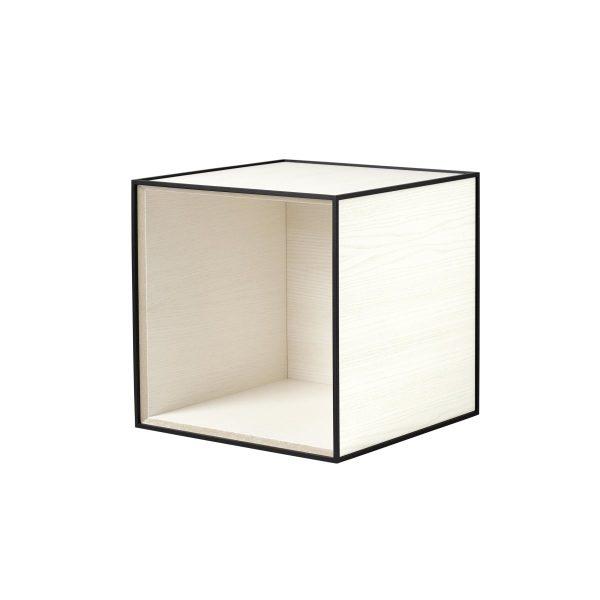 Frame 35 kubus zonder deur wit essen