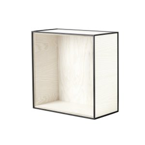 Frame 42 kubus zonder deur wit essen