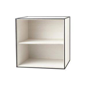 Frame 49 kubus zonder deur wit essen