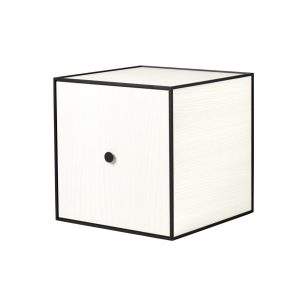 Frame 35 kubus met deur wit essen