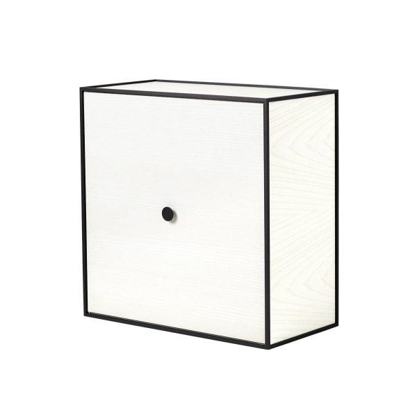 Frame 42 kubus met deur wit essen