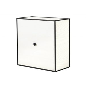 Frame 49 kubus met deur wit essen