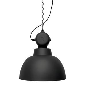 Factory plafondlamp L mat zwart
