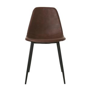 Form stoel 2-pack bruin