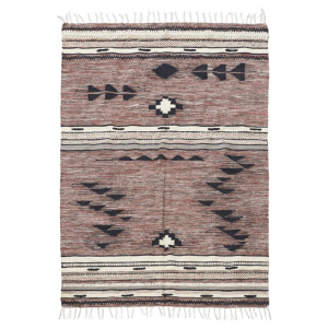Tribe wollen vloerkleed 140 x 200 cm.