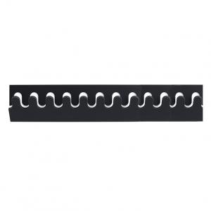Ponoq kapstok zwart-wit 74,4 cm - 12 haken