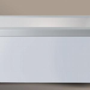Xenz Italo vrijstaand bad 170 x 80 cm wit Solid Surface