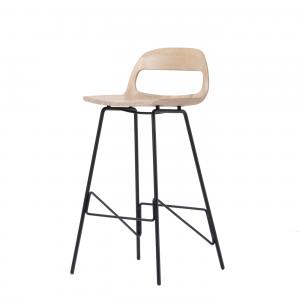 Gazzda Leina Bar Chair - Scandinavische barkruk - Retro