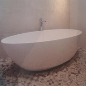Luca Primo vrijstaand bad 180x80,5cm ovaal acryl wit