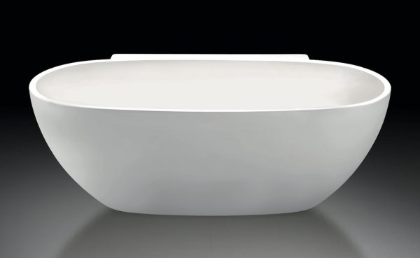 Luca Primo back to wall bad rond 175x85x60