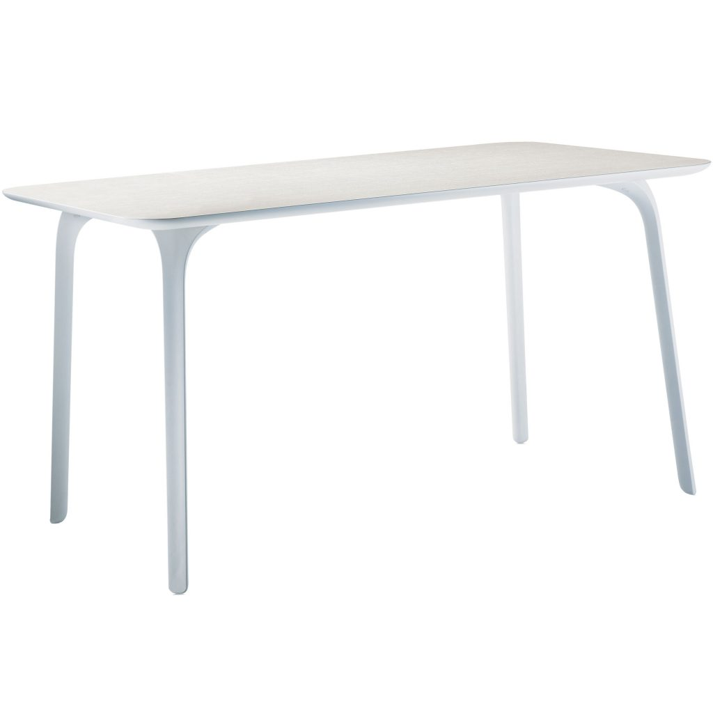 Magis table first tafel rechthoek wit for Magis table first