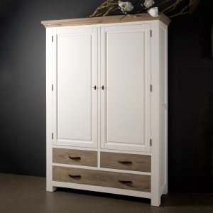 Tower Living Opbergkast XL 'Parma' kleur wit