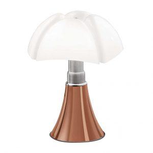 Martinelli Luce Mini Pipistrello tafellamp LED dim touch koper