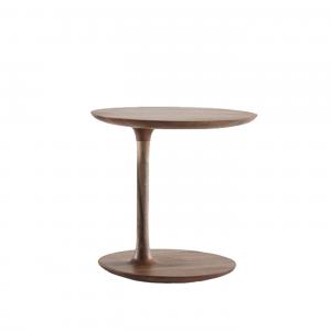 Artisan Bloop Coffee Table - Ronde bijzettafel - Hoog - Massief hout