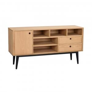Nordiq Vienna sideboard - Scandinavisch dressoir - 150 cm - Eiken - Design