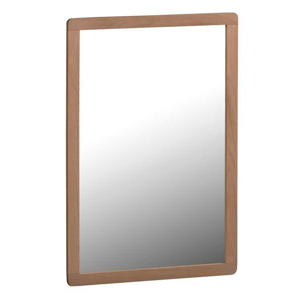 Nordiq Metro Mirror - Houten wandspiegelInitial Metro Mirror | Eiken | Wandspiegel | 90cm hoog