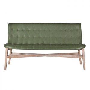 Eleonora Eetkamerbank 'Neba' 160cm, kleur groen