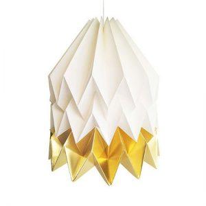 Orikomi Origami lamp XL - Papieren hanglamp pastel