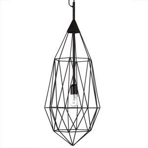 Pols Potten Diamond hanglamp large zwart