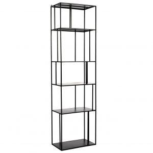 Pols Potten Shelf Unit Metal Tall Single stellingkast zwart