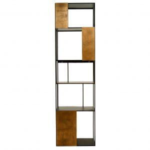 Pols Potten Shelf Unit Single Gold Doors stellingkast