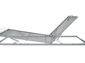 AVEK Handverstelbare spiraalbodem Integra 200 - 70 x 200 cm - Aluminium