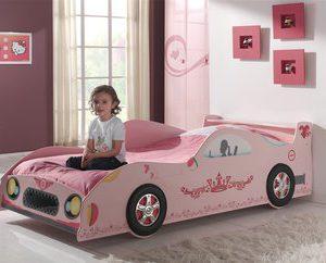 Autobed Linda - 90 x 200 cm - Roze