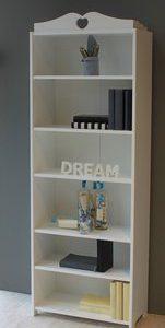 Boekenkast Emma - 64 x 180 x 31 cm - Wit