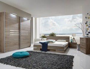 Complete ACTIE slaapkamer Anne Plus - 140 x 190 cm - Ruw eiken