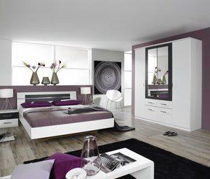 Complete ACTIE slaapkamer Baruno - 160 x 200 cm - Alpine wit
