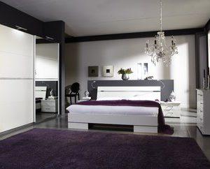 Complete ACTIE slaapkamer Pandra Plus - 160 x 200 cm - Alpine wit