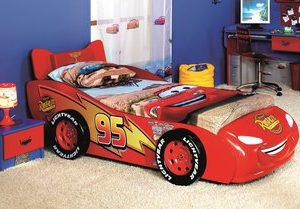 Disney CARS McQueen autobed - 90 x 190 cm - Rood