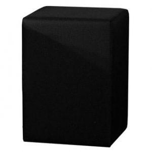 Hocker Milton 2 - 42 x 60 x 42 cm - Barette Zwart