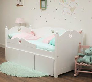 Kajuitbed Emma Junior - 70 x 150 - Wit