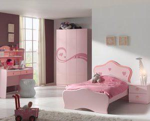 Ledikant Linda - 90 x 200 cm - Roze