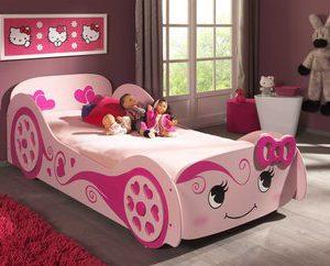 Love autobed - 90 x 200 cm - Roze