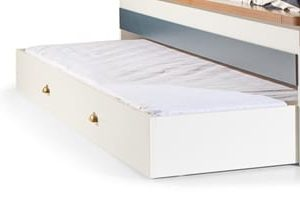 Slaaplade Admiral - 90 x 190 cm - Wit