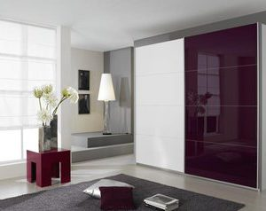Zweefdeurkast Quadro Plus - 136 x 210 x 62 cm (2 deuren) - Eiken Stirling