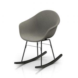 Toou TA UP schommelstoel - Armstoel - ER zwart onderstel -
