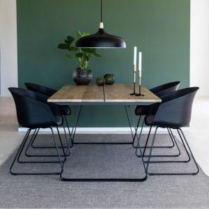 Interstil Eettafel 'Ran' eiken, 200 x 95cm