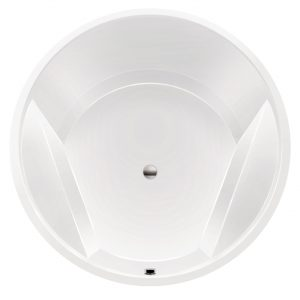 Xenz Rondo bad rond 160cm wit