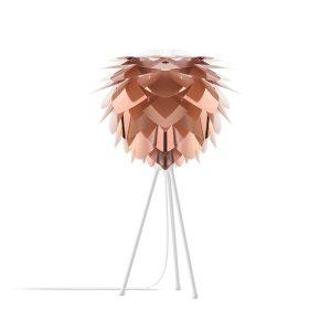 VITA lampen Silvia Koper - Mini ? 34 cm - Tafellamp - Witte voet