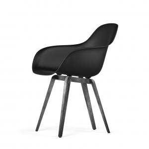 Kubikoff Slice stoel - V9 Armshell - Grijs onderstel -