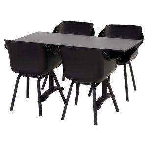 Hartman Sophie Bistro tuinset 140x68 tafel + 4 stoelen