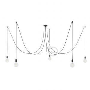 Creative Cables Koordset - Spider - Zwart -