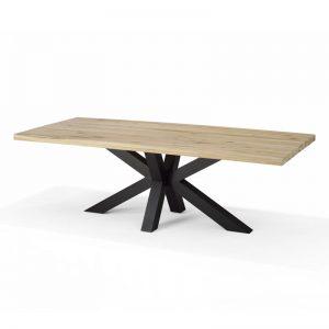 RV Design Eettafel 'Stenvad' Eiken naturel, 200 x 100cm