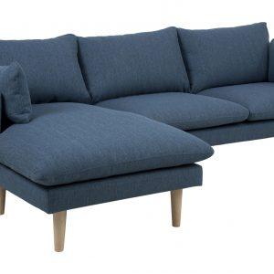 Loungebank 'Isabella' Links, kleur petrol